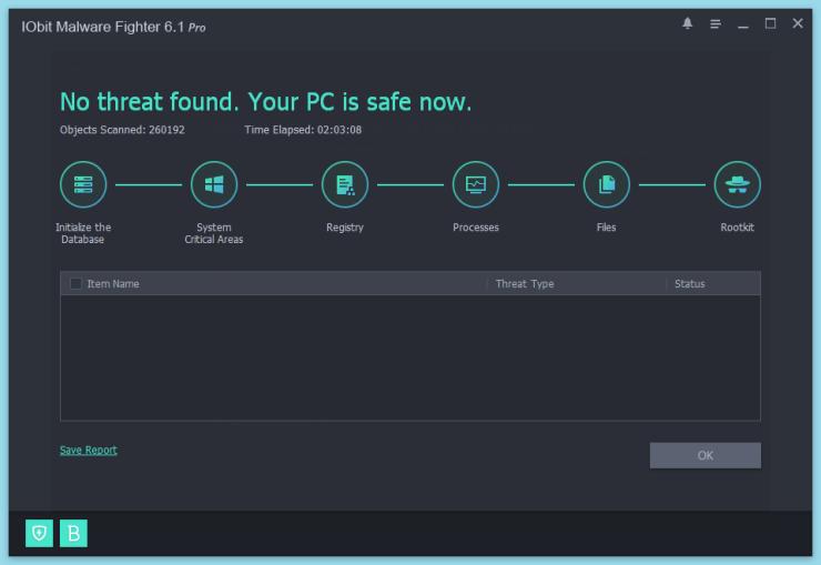 Những tính năng vượt trội của IObit Malware Fighter Pro
