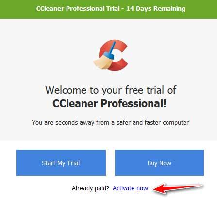 Active phần mềm ccleaner pro