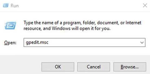 tắt Windows Defender win 10 bằng gpedit.msc