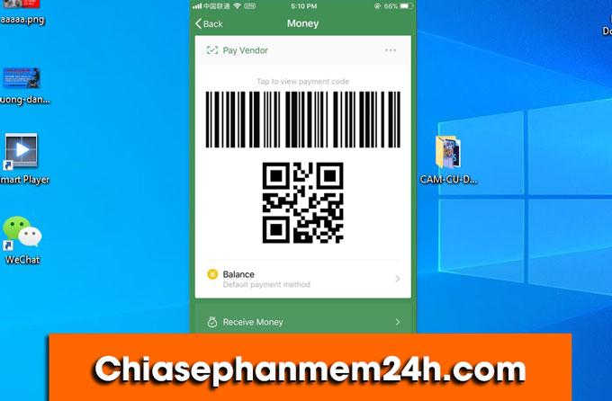 Tính năng thanh toán bằng QR Code của WeChat