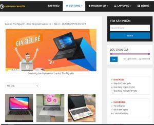 của hàng laptop Thư Nguyễn chuyên thu mua laptop cũ giá cao tại HCM